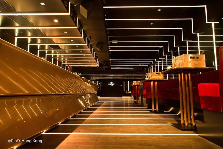 Play nightclub Hong Kong luxury interior design