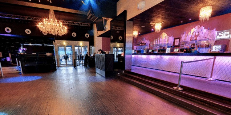 Party at Palais Maillot VIP nightclub in Paris