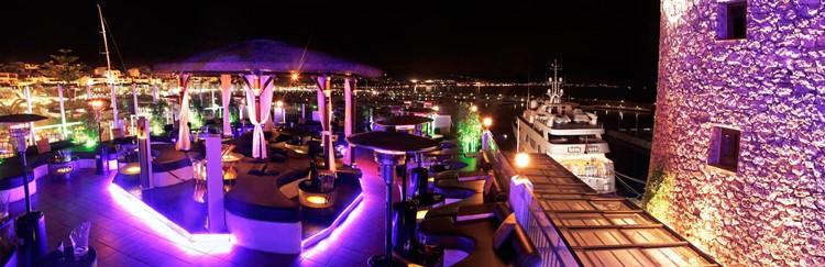 Party at Pangea VIP nightclub in Marbella