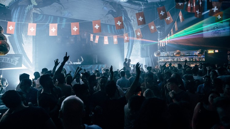 Plaza Klub nightclub Zürich