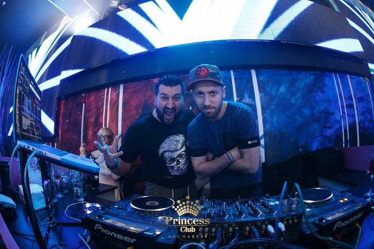 Princess Club nightclub Bucharest dj mixing music fun dance party