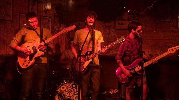 Radio EPGB nightclub Tel Aviv concert guitar players singers