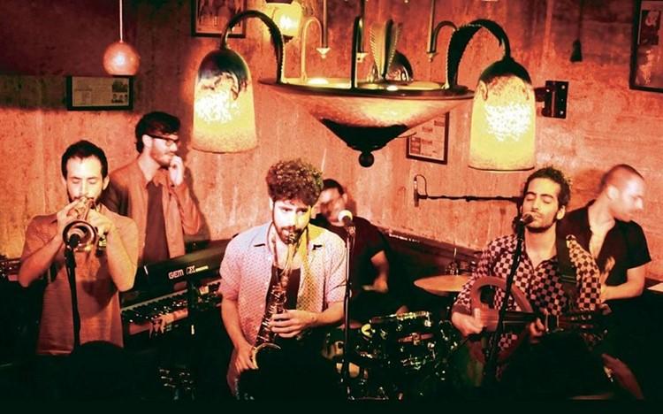 Radio EPGB nightclub Tel Aviv  concert band musicians