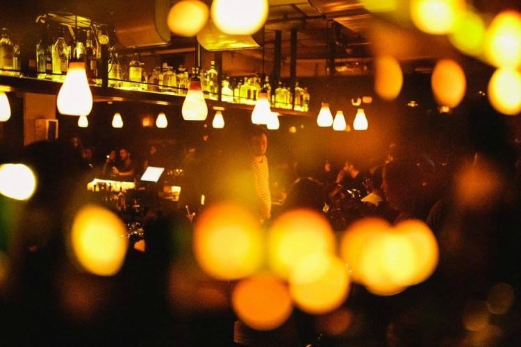 Party at Radio EPGB VIP nightclub in Tel Aviv