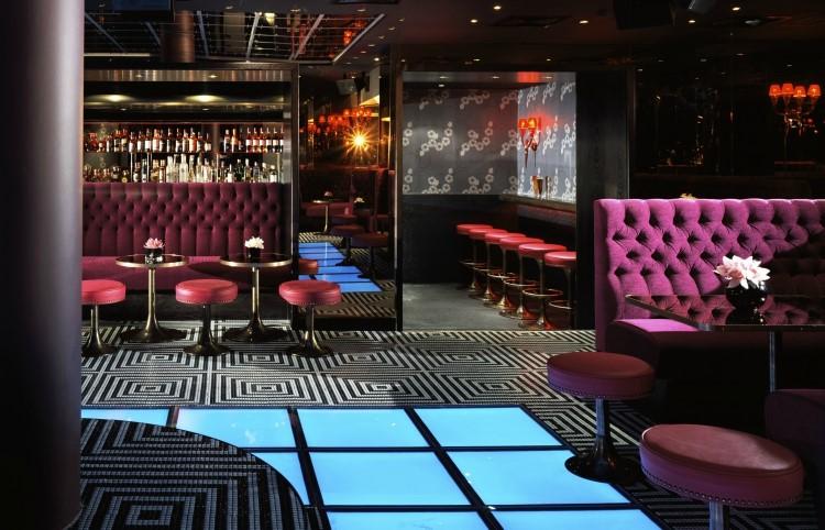 Party at Raffles VIP nightclub in London