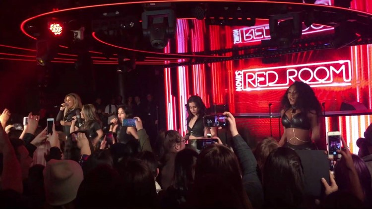 Red Room Club nightclub Sydney Fifth Harmony singers celebrities concert event show