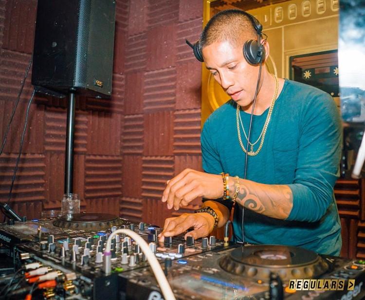 Regulars Bar club Toronto dj mixing music
