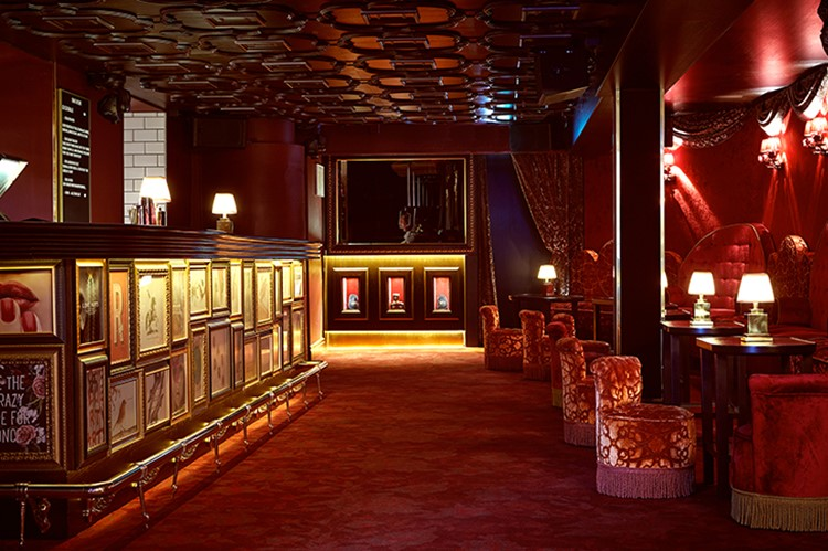 Party at Rose VIP nightclub in Stockholm