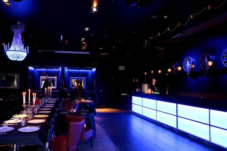 Party at Sense VIP nightclub in Stockholm