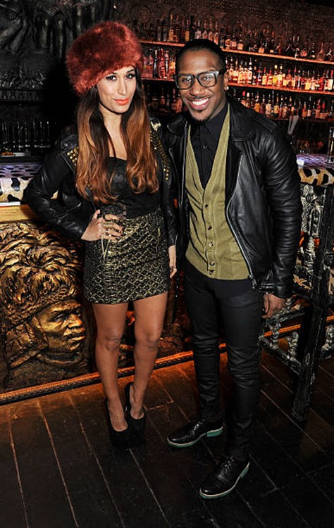 Shaka Zulu London restaurant club celebrities Preeya Kalidas and Royston attending an event
