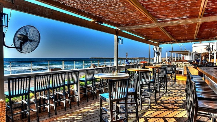 Shalvata nightclub Tel Aviv lounge bar areas beach club
