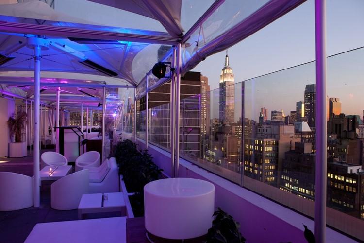 Sky Room nightclub New York