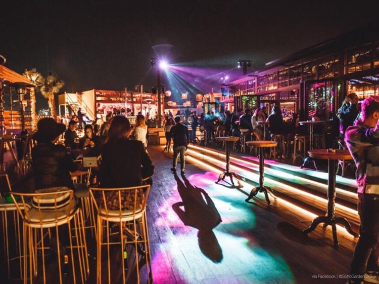 Party at Soho Garden VIP nightclub in Dubai. Find promoters for guest list in Clubbable