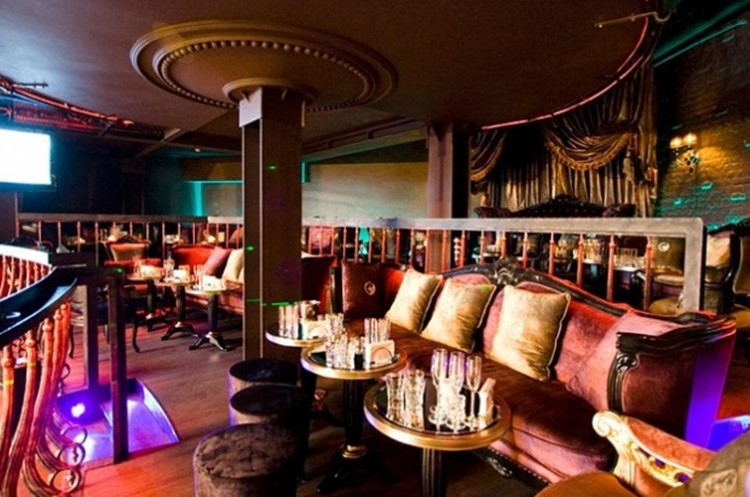 Soho Rooms nightclub Moscow luxury interior design