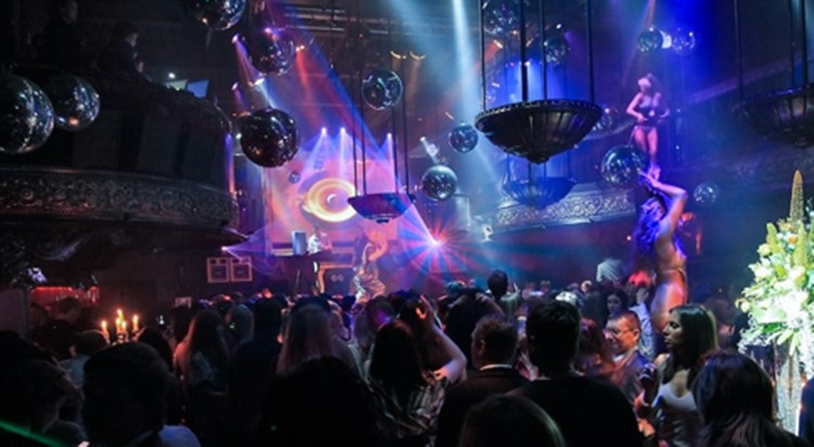 Soho Rooms nightclub Moscow full night event