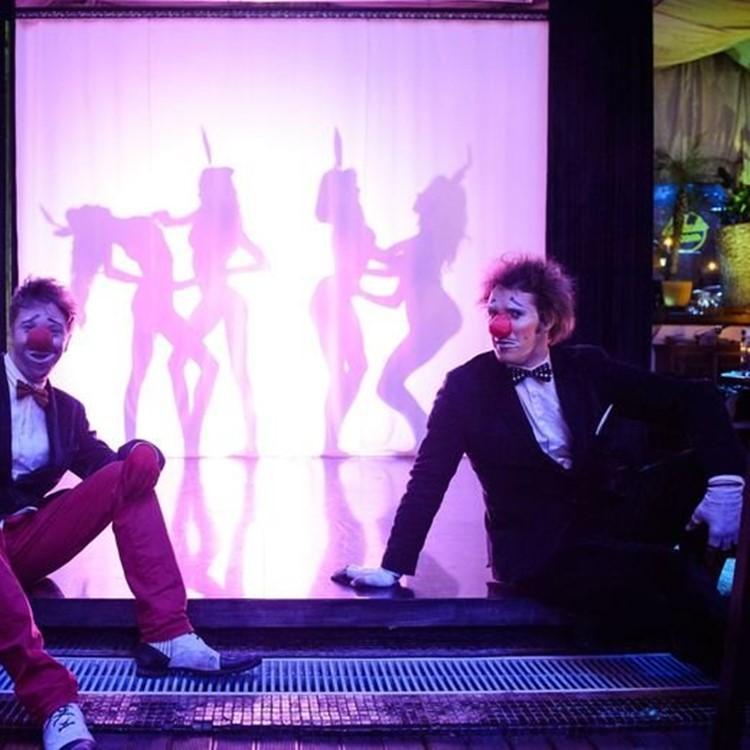 Soho Rooms nightclub Moscow exotic dancers cabaret show