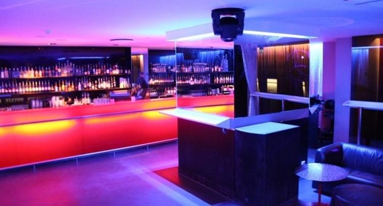 Party at Solidaritet VIP nightclub in Stockholm