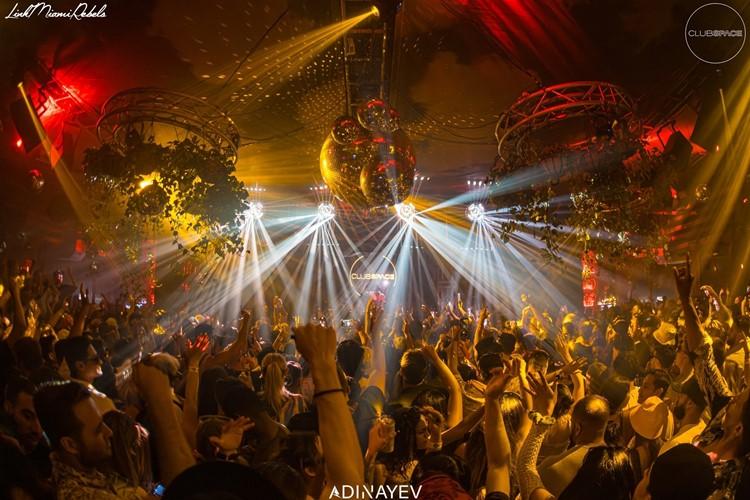 Space nightclub Warsaw