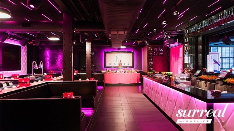 Party at Studio Paris VIP nightclub in Chicago