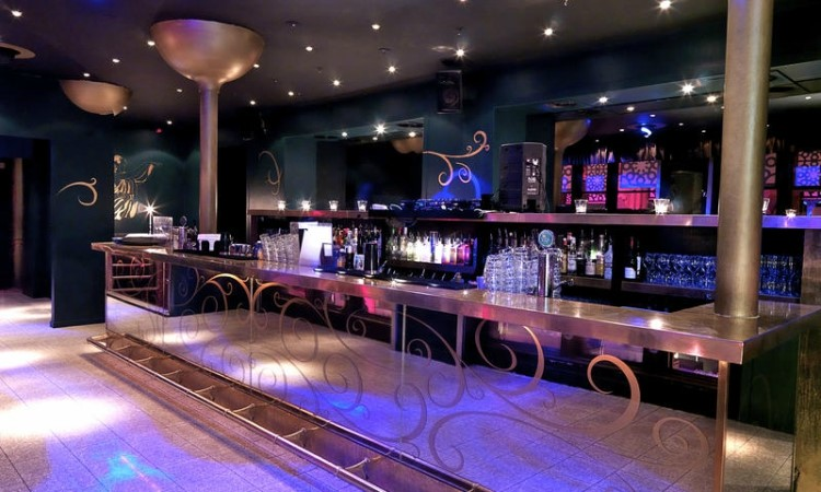 Party at Sturecompagniet VIP nightclub in Stockholm