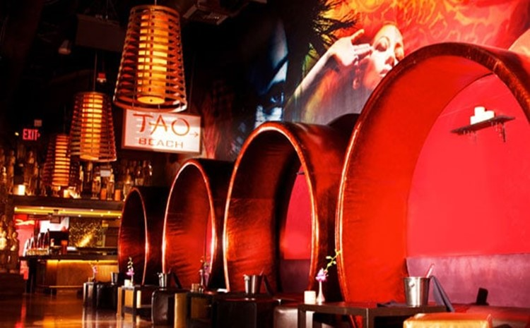 Party at Tao Las Vegas VIP nightclub in Las Vegas