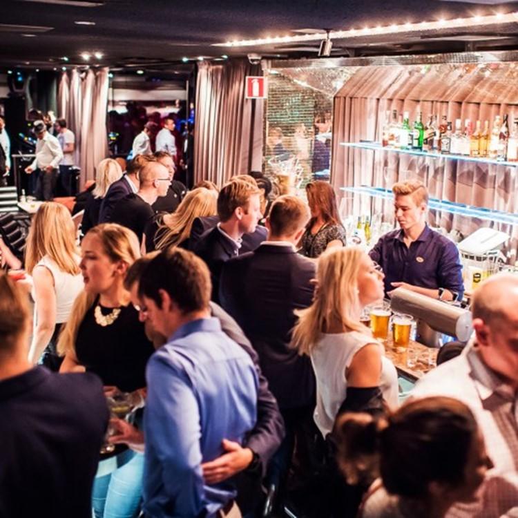 Party at Teatteri VIP nightclub in Helsinki