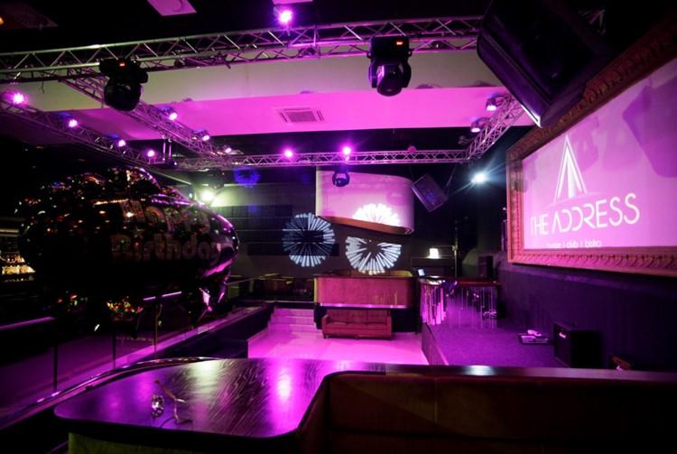 The Address nightclub Cape Town