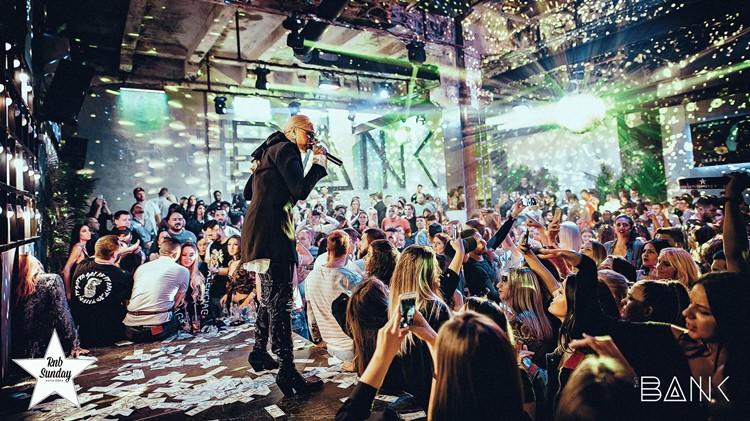 The Bank club nightclub Belgrade dj music fun party event