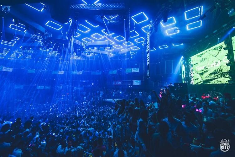 The City nightclub Cancun