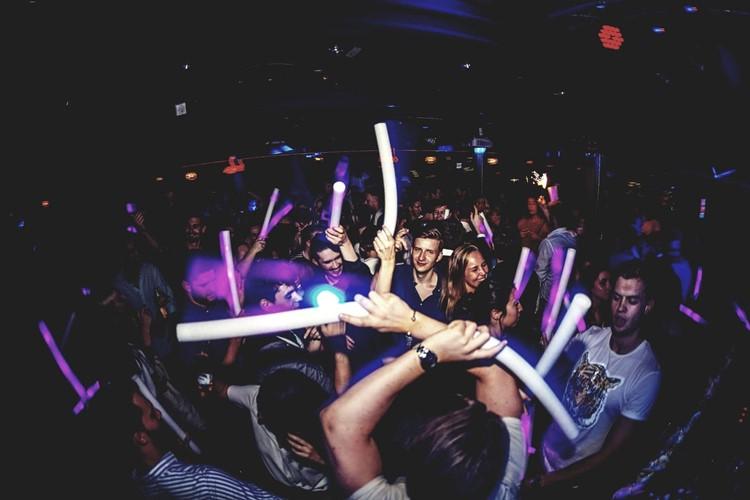 The Club nightclub Oslo dj mixing music dance floor party fun