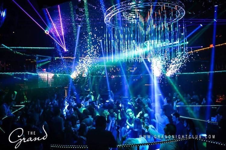 The Grand nightclub San Francisco big party show