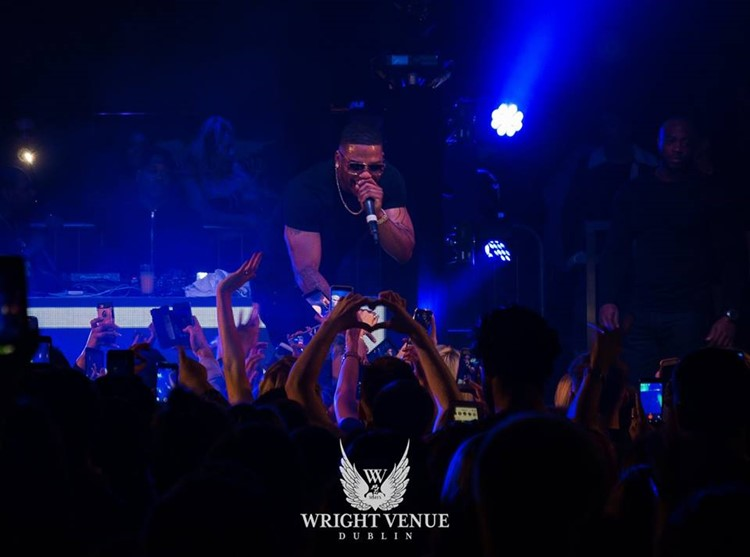 The Wright Venue nightclub Dublin dance music live concert rap singer fun party event