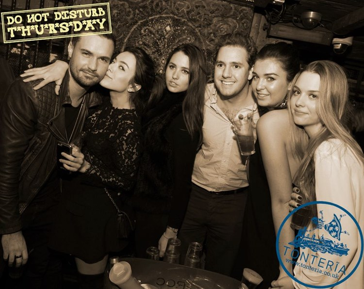 Party at Tonteria VIP nightclub in London. Find promoters for guest list in Clubbable