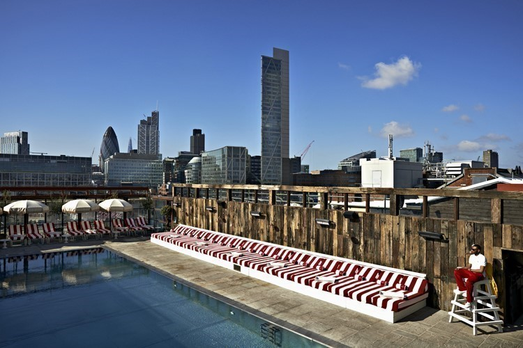 Top 5 rooftop bars in Shoreditch