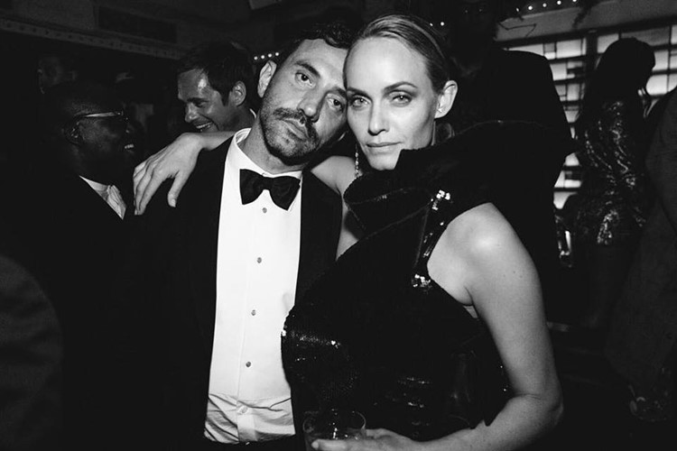 Up and Down nightclub New York Cannes gala afterparty formal dressed woman and man black and white picture