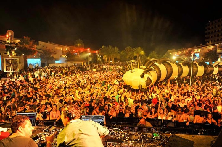 Ushuaia nightclub Ibiza big event