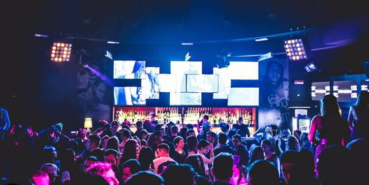 Vibe Room nightclub Milan