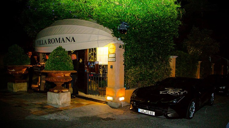 Party at Villa Romana VIP nightclub in St Tropez. Find promoters for guest list in Clubbable