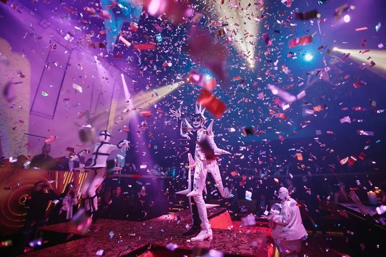 WoW nightclub Moscow
