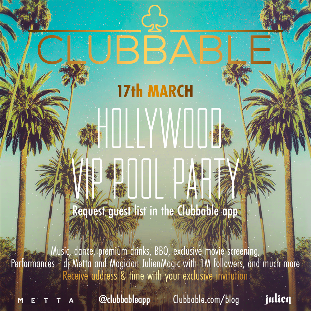 Clubbable Pool Party  at Hollywood VIP Pool Party by Clubbable in Los Angeles 17 Mar 2018