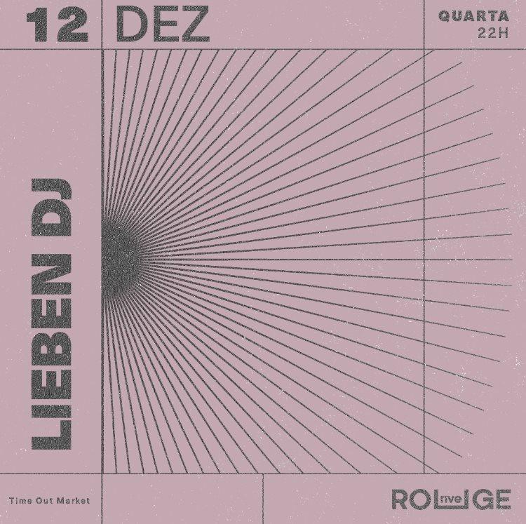 Lieben Dj  at Rive Rouge in Lisbon 12 Dec 2018