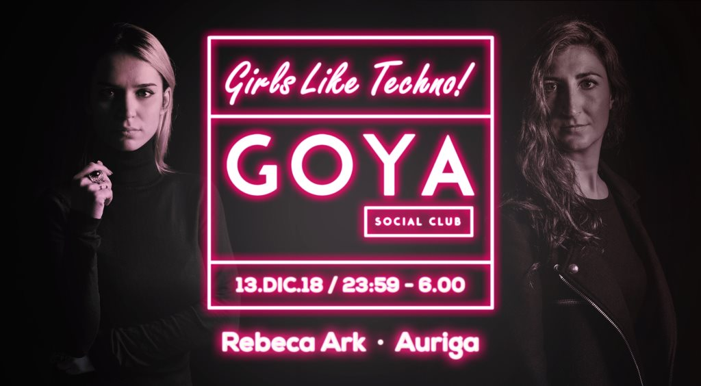 Pitch Ladies with Rebeca Ark & Auriga  at Goya Social Club in Madrid 13 Dec 2018