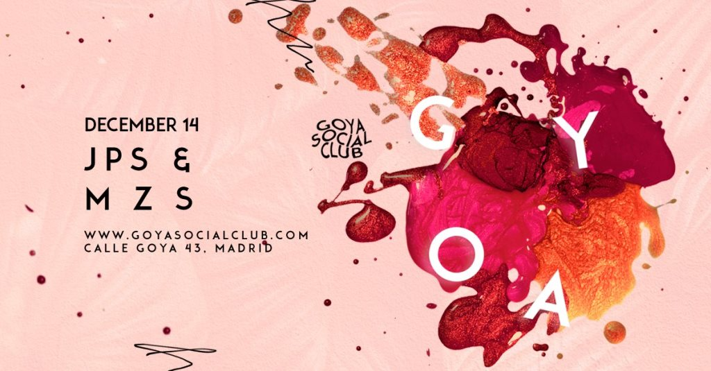 Goya Social Club  at Goya Social Club in Madrid 14 Dec 2018