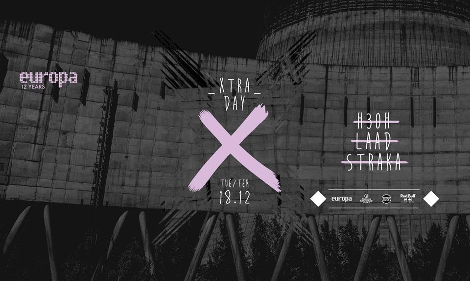 H30H, Laad + Straka - Europa's Xtra Day  at Europa in Lisbon 18 Dec 2018