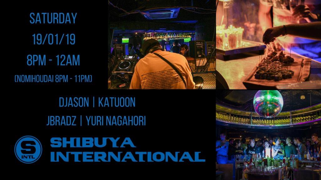 Shibuya International  at Kitsune in Tokyo 19 Jan 2019