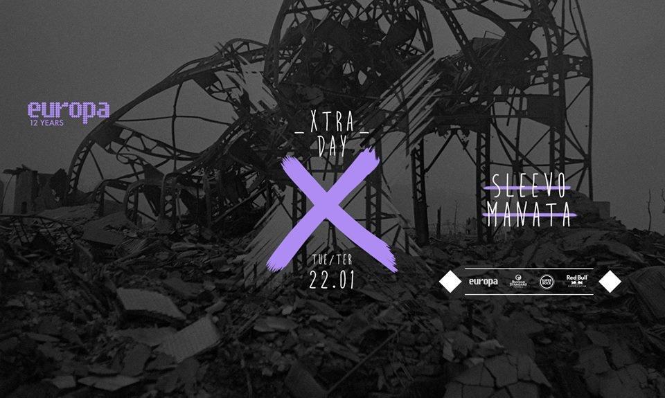 Sleevo + Manata - Europa's Xtra Day  at Europa in Lisbon 22 Jan 2019