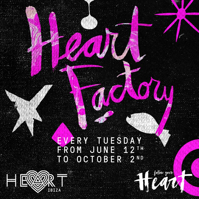 Heart in Ibiza 26 Jun 2018